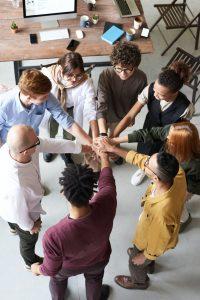 equipe communication entreprise